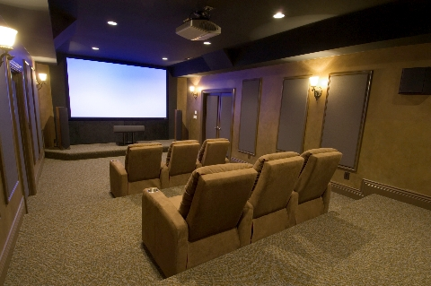 luxury in-home theater